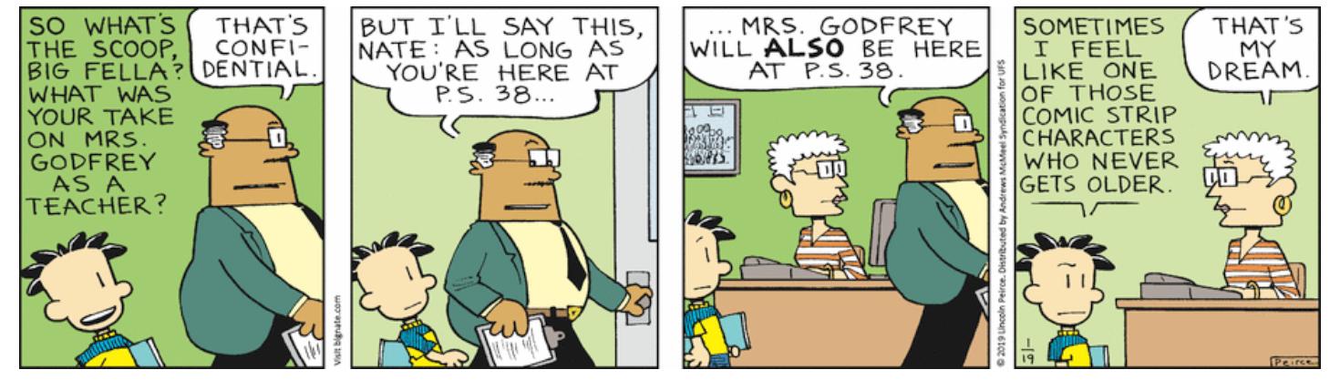 Comic Strip: January 19, 2019