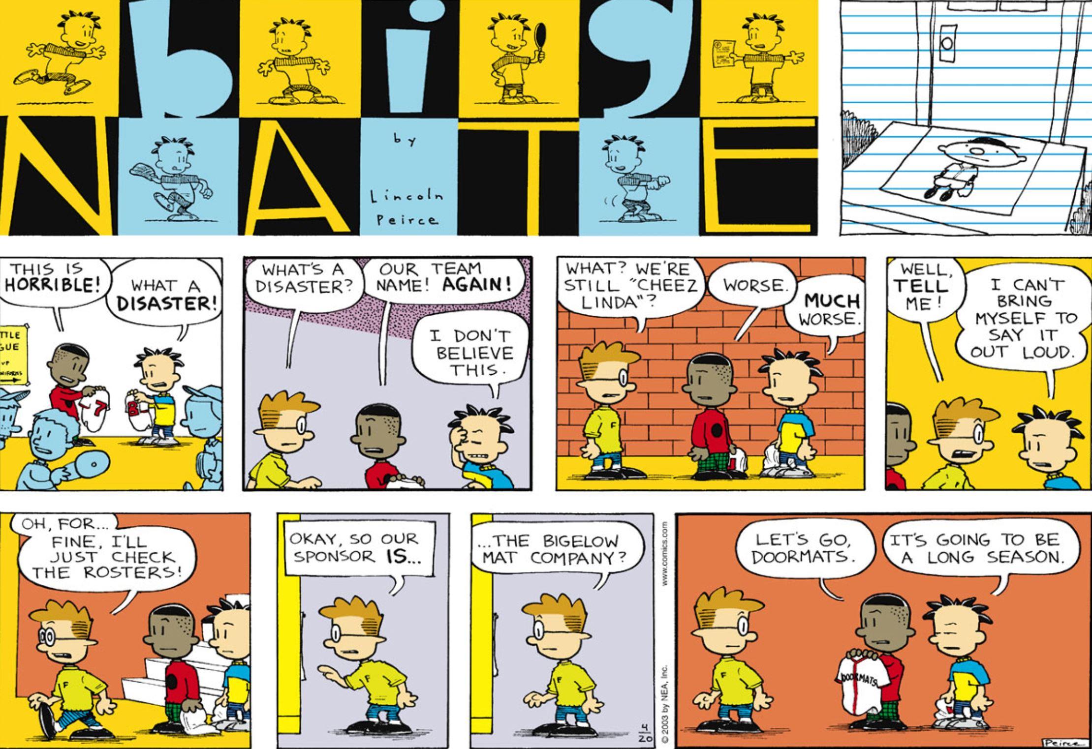 Comic Strip: April 20, 2003
