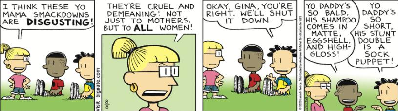 Comic Strip: August 8, 2020