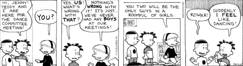 Comic Strip: January 14, 2003
