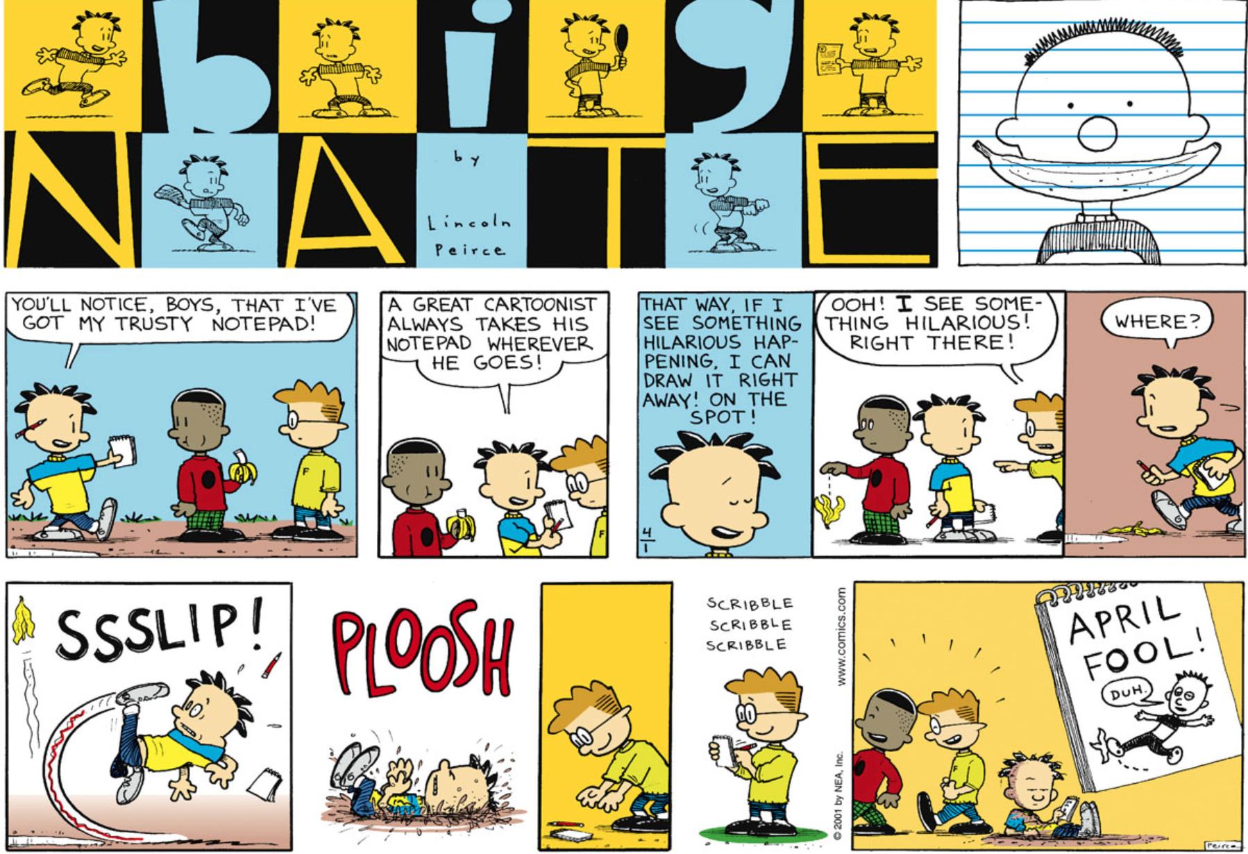 Comic Strip: April 1, 2001