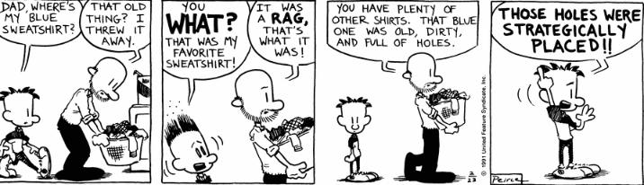 Comic Strip: February 23, 1991