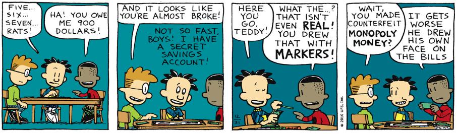 Comic Strip: December 31, 2010