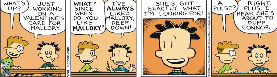 Comic Strip: February 10, 2020