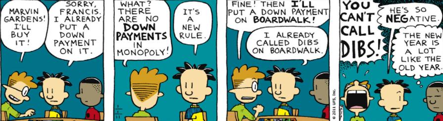 Comic Strip: January 1, 2011