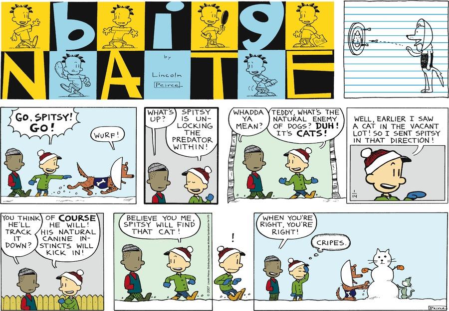 Comic Strip: January 14, 2018