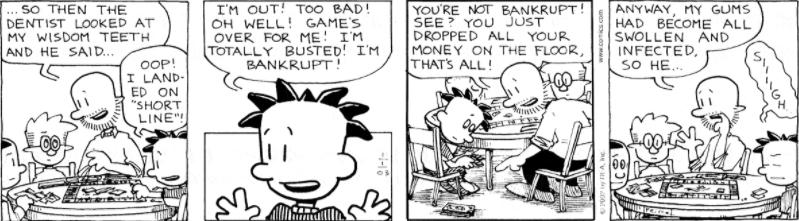 Comic Strip: January 1, 2003