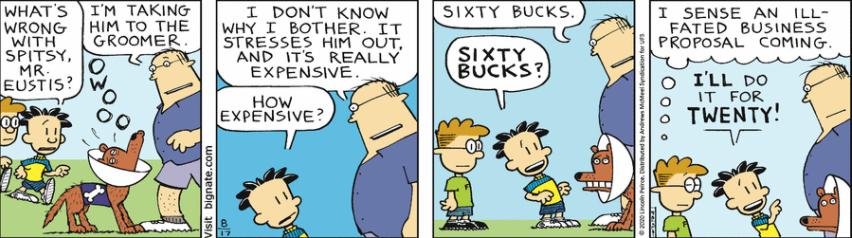 Comic Strip: August 17, 2020