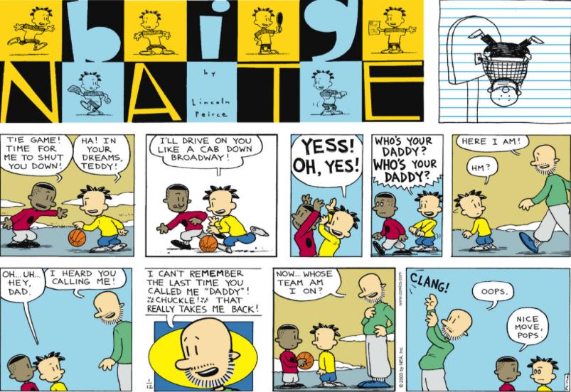 Comic Strip: January 12, 2003