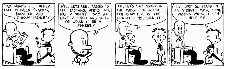Comic Strip: January 11, 1991