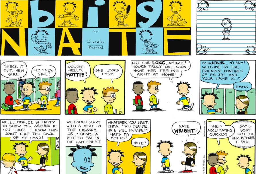 Comic Strip: April 24, 2005