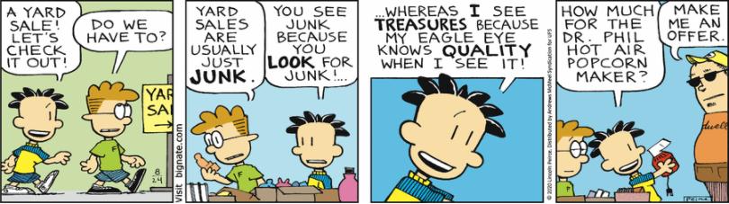 Comic Strip: August 24, 2020