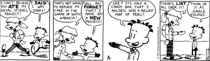 Comic Strip: February 22, 1991