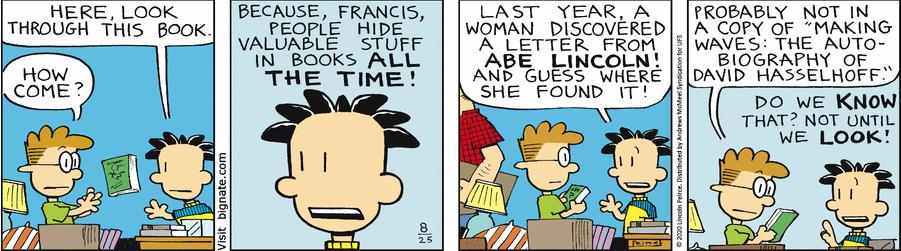 Comic Strip: August 25, 2020