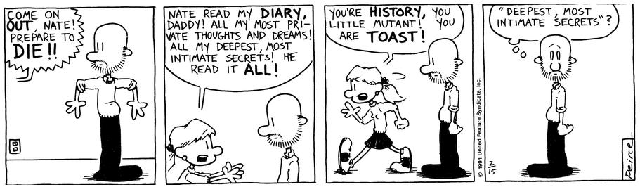 Comic Strip: February 15, 1991