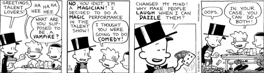Comic Strip: April 28, 2003
