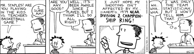 Comic Strip: February 19, 2003