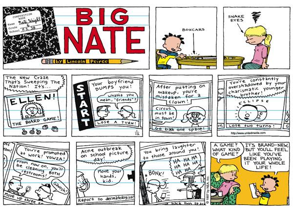 Comic Strip: January 12, 1997