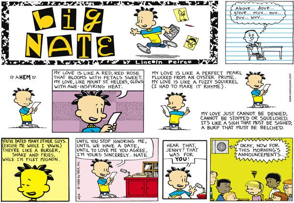 Comic Strip: April 4, 1999