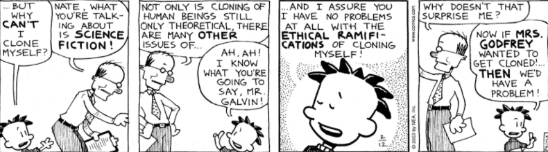Comic Strip: February 12, 2003