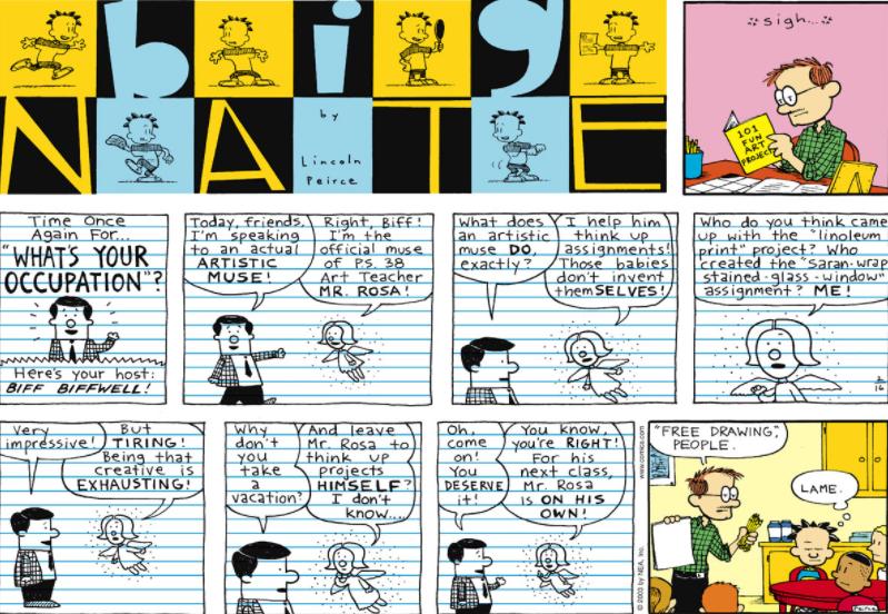 Comic Strip: February 16, 2003