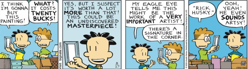 Comic Strip: August 27, 2020