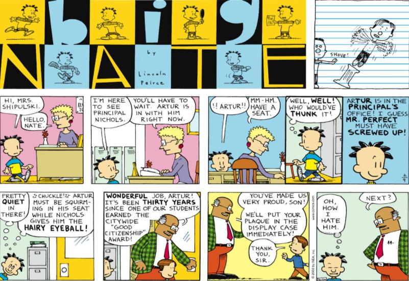 Comic Strip: February 9, 2003