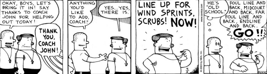Comic Strip: April 5, 2003