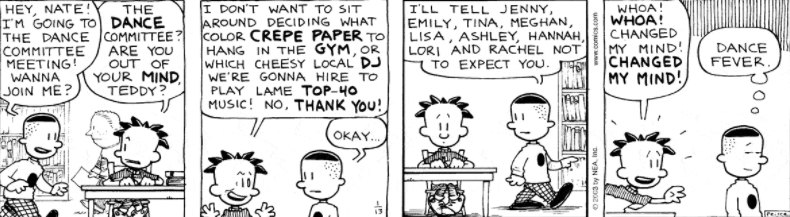 Comic Strip: January 13, 2003