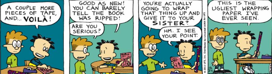 Comic Strip: December 24, 2011