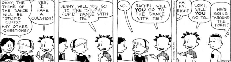 Comic Strip: January 18, 2003
