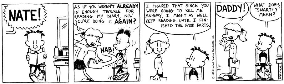 Comic Strip: February 16, 1991