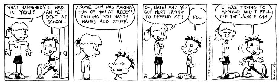 Comic Strip: January 14, 1991