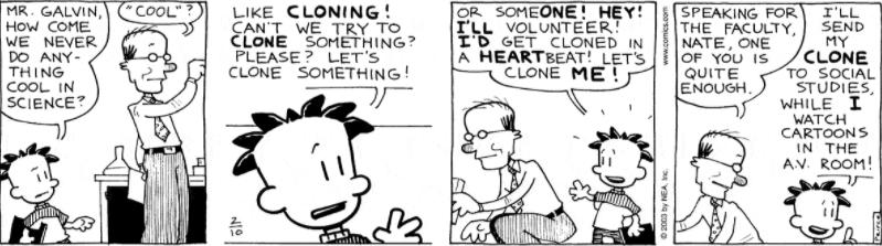 Comic Strip: February 10, 2003