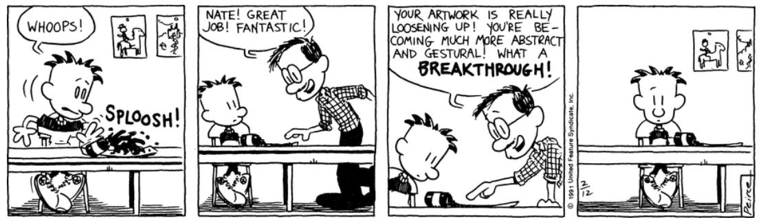 Comic Strip: February 12, 1991