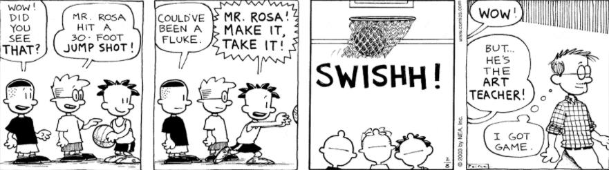 Comic Strip: February 8, 2003