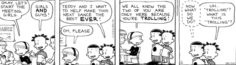 Comic Strip: January 15, 2003