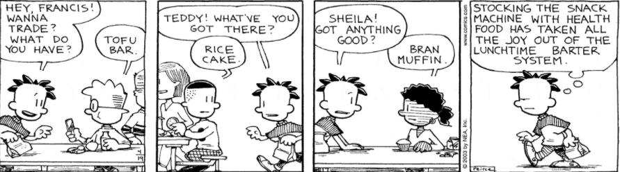 Comic Strip: April 19, 2003
