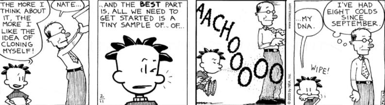 Comic Strip: February 11, 2003
