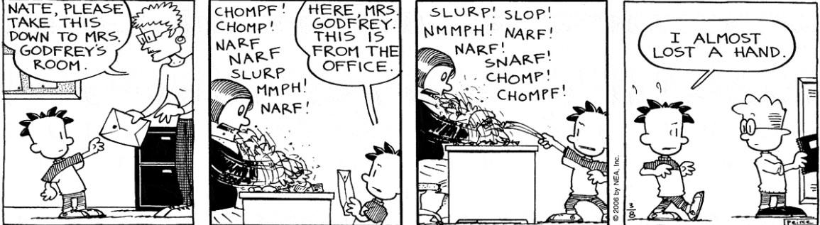 Comic Strip: March 8, 2006