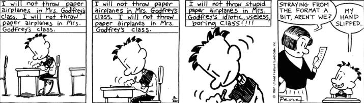 Comic Strip: February 20, 1991
