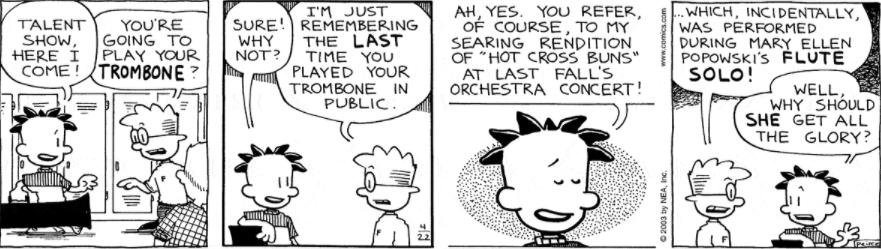 Comic Strip: April 22, 2003