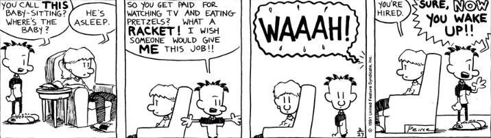 Comic Strip: February 27, 1991