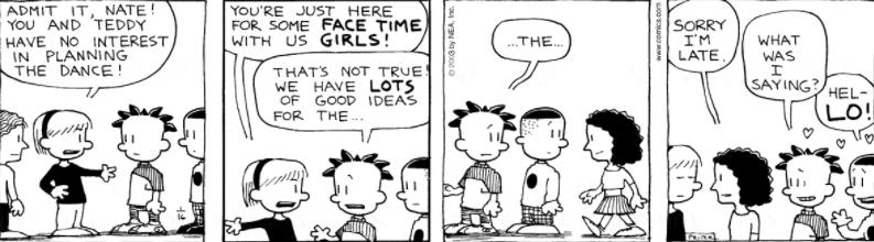 Comic Strip: January 16, 2003