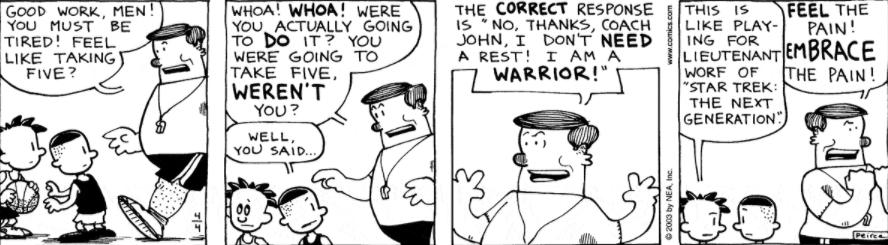 Comic Strip: April 4, 2003