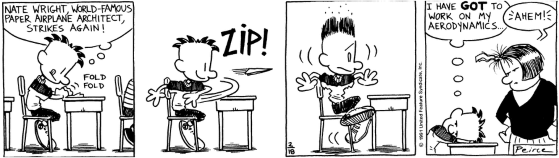 Comic Strip: February 18, 1991