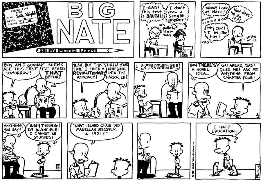 Comic Strip: February 10, 1991