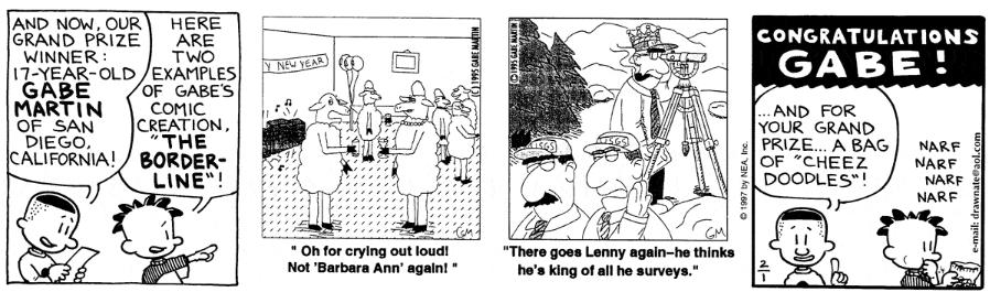 Comic Strip: February 1, 1997