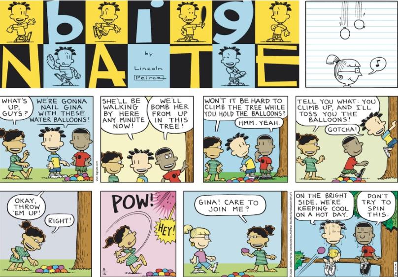 Comic Strip: August 16, 2020