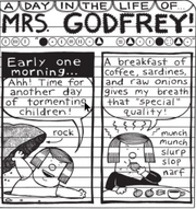 A day in the life of Mrs. Godfrey (Pic 1)